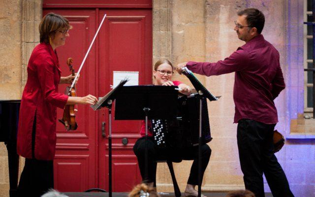 Trio Anne Ménier Pierre-Stéphane Schmidlet Solange Baron